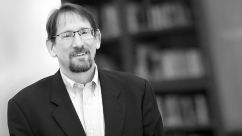 black and white image of Rich Martin, Ph.D.