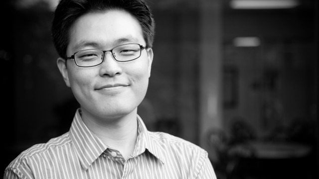 Black and white photo of assistant professor In Heok Lee, Ph.D.