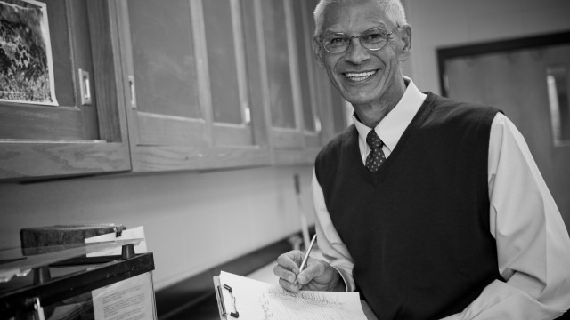 Black and white image of faculty. Shawn M. Glynn, Ph.D