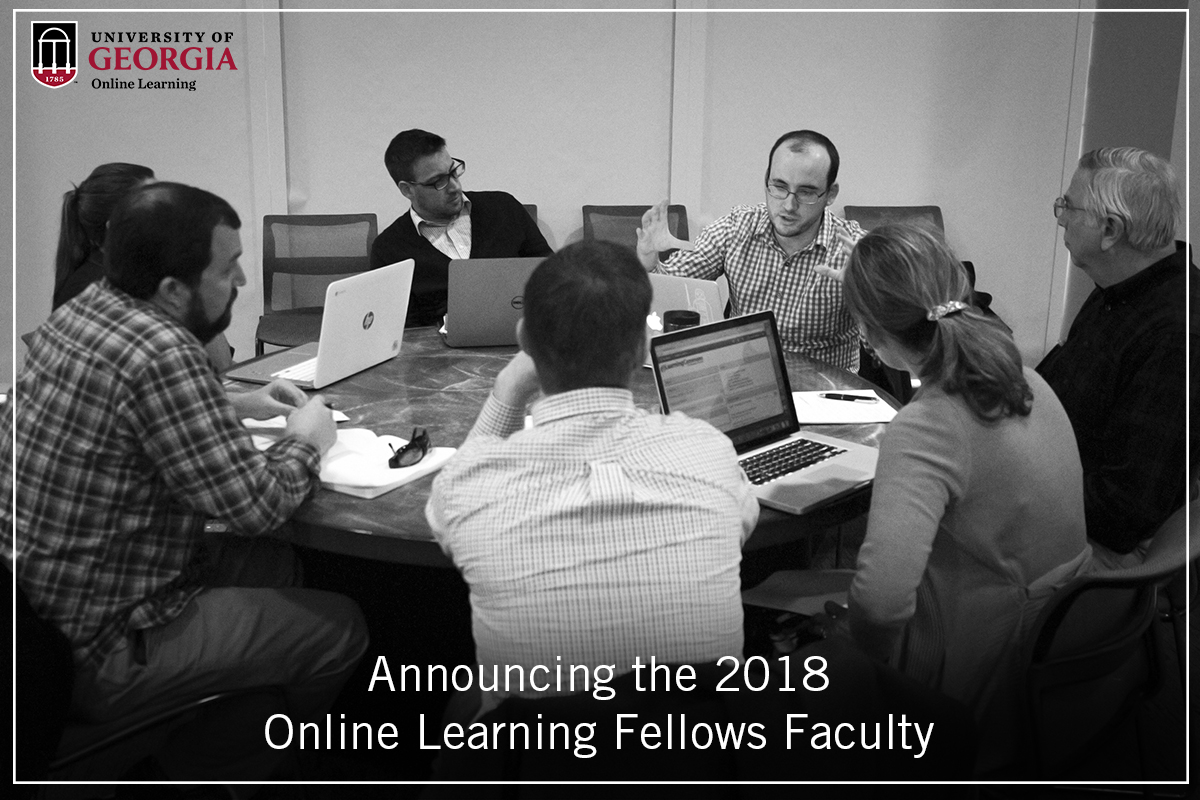 Announcing This Years Online Learning Fellows Faculty Uga Online