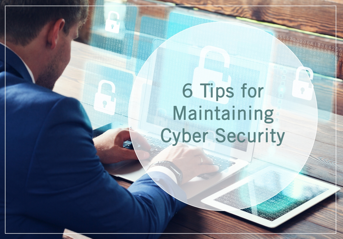 6 Tips For Maintaining Cyber Security Uga Online Online Degrees