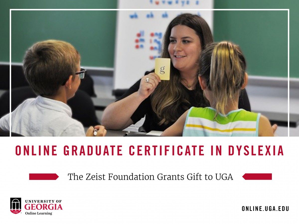 Online Graduate Certificate In Dyslexia The Zeist Foundation Grants