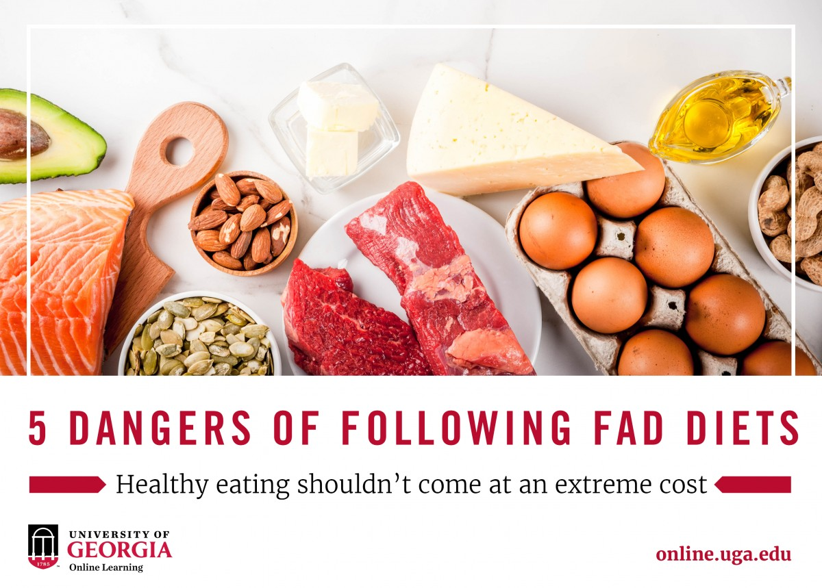 what age group are recommended fad diets