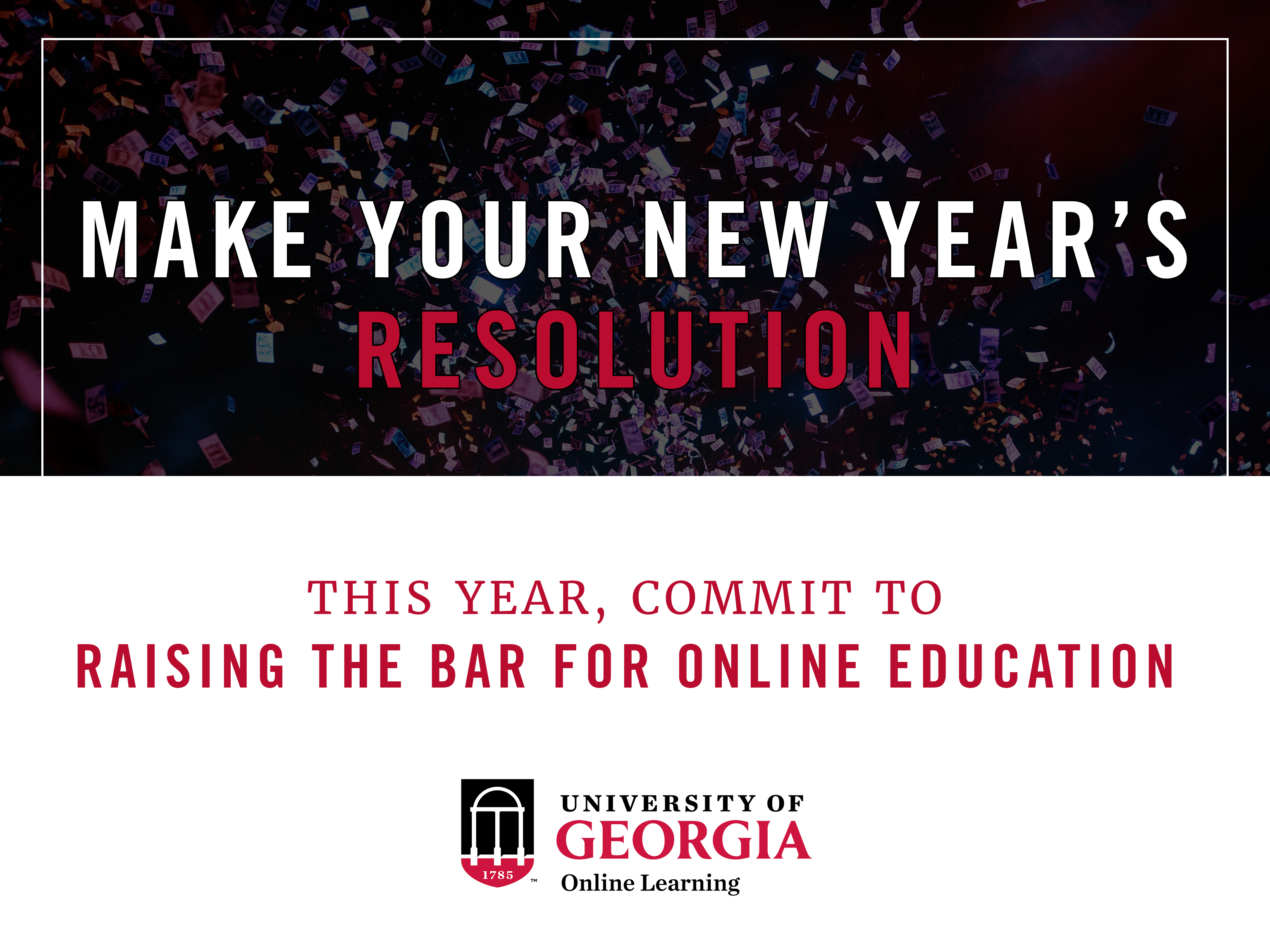 Bachelor of business administration uga online online degrees set your new years resolution by committing to online education xflitez Choice Image