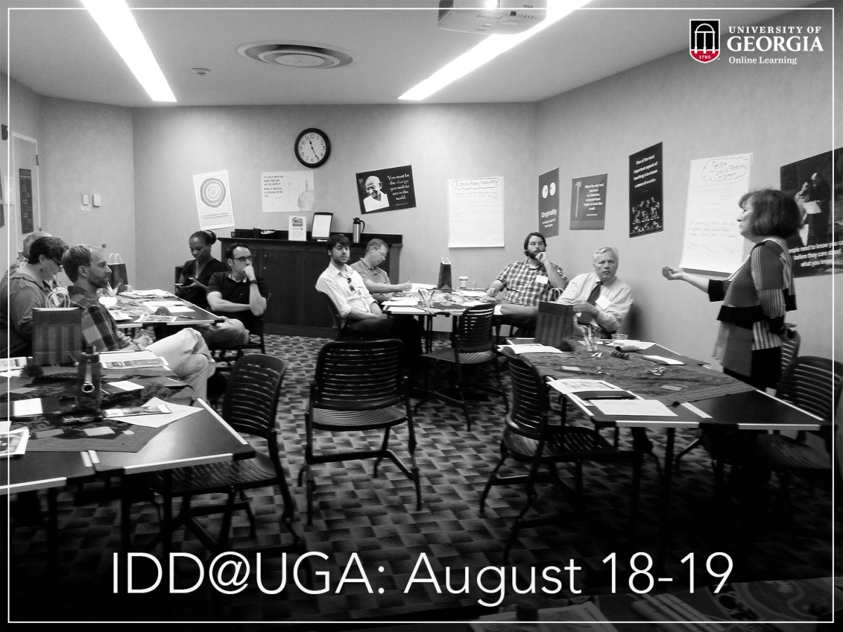 The Two Day Professional Instructional Design And Development IDD Conference Is Held On August 18 19 At UGA Center For Continuing Education Hotel