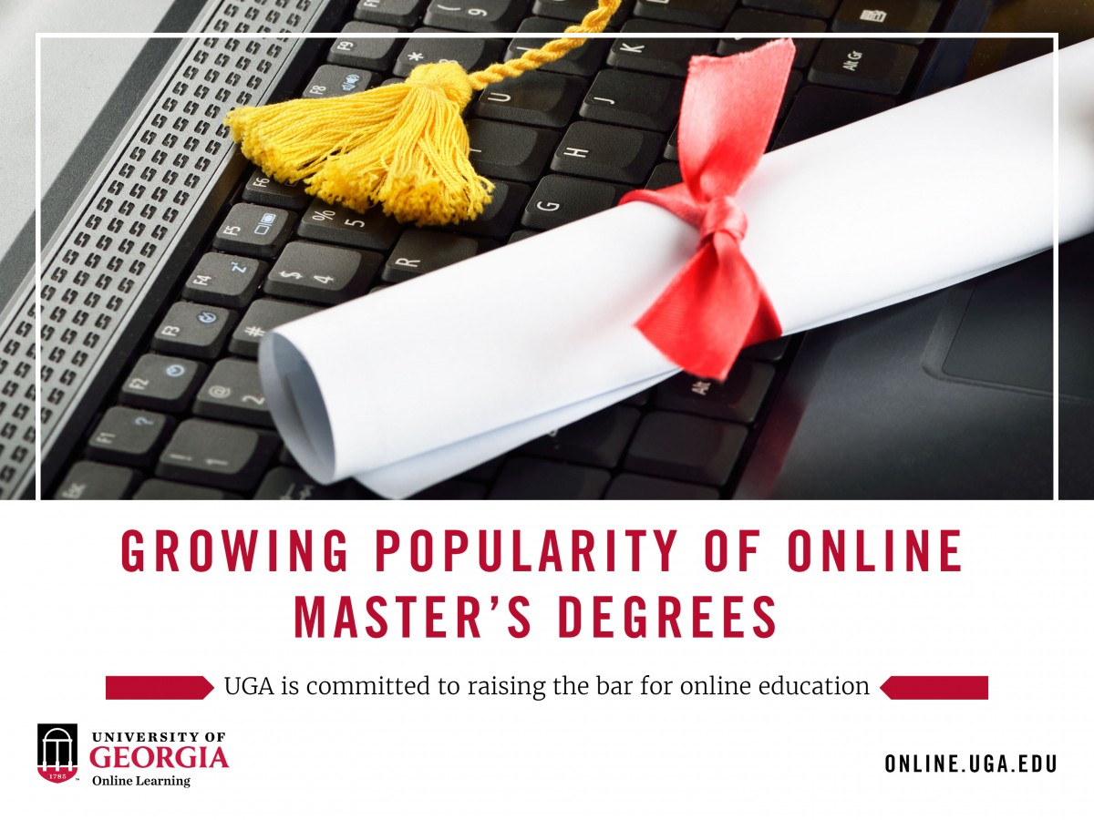 Master's Degrees are Becoming More Popular, Increasingly Online