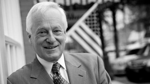 black and white photo of lecturer Tom Bramorski, Ph.D.